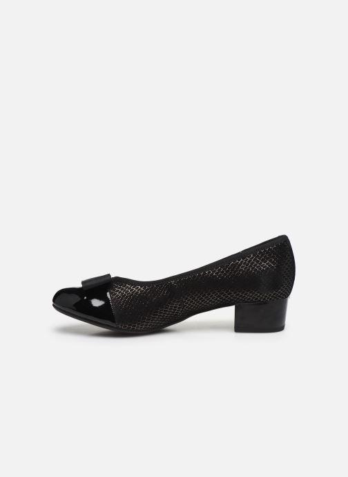 Zapatos de tacón Caprice Sansa Negro vista de frente