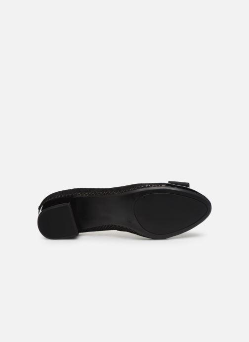 Zapatos de tacón Caprice Sansa Negro vista de arriba