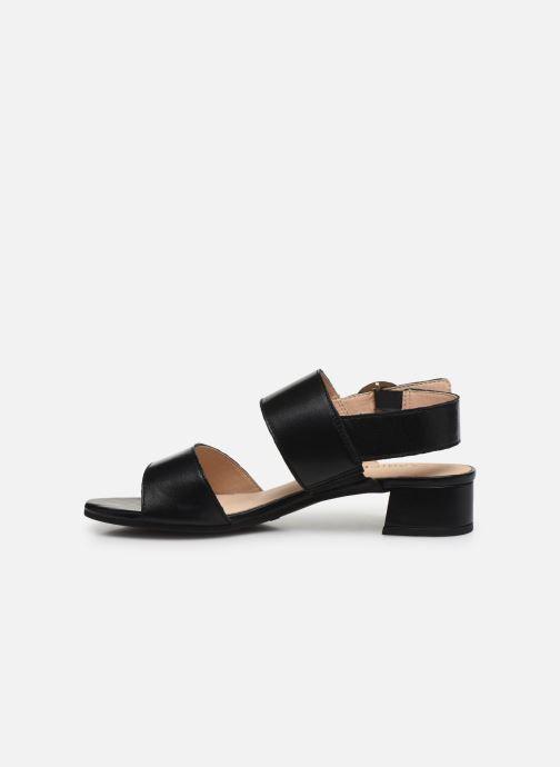Sandali e scarpe aperte Caprice Niva Nero immagine frontale