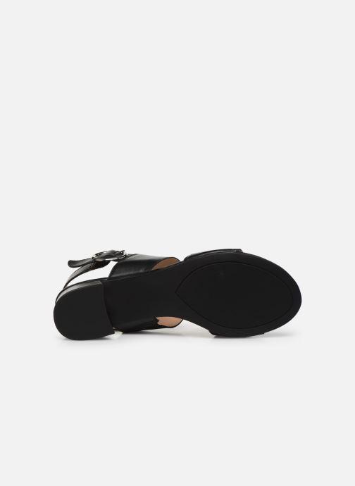 Sandalias Caprice Niva Negro vista de arriba