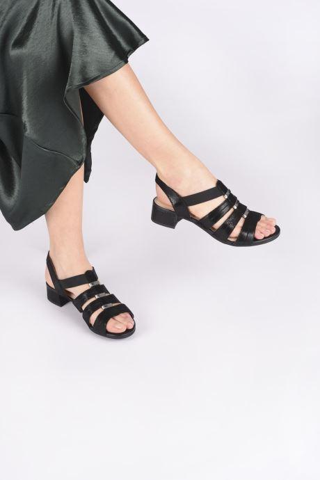 Sandali e scarpe aperte Caprice Nika Nero immagine dal basso