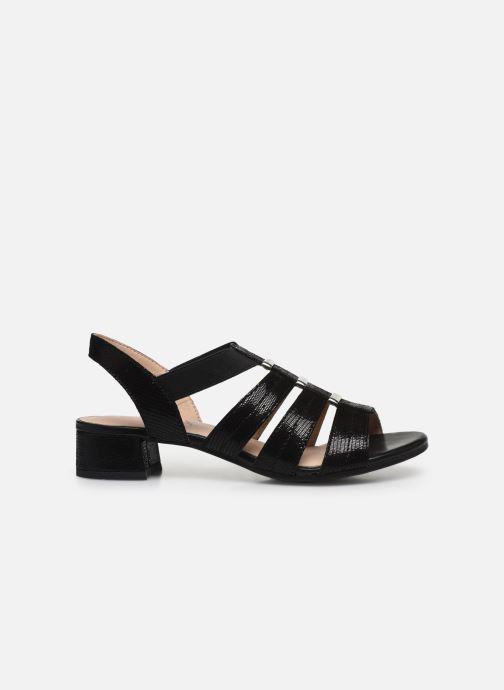 Sandali e scarpe aperte Caprice Nika Nero immagine posteriore