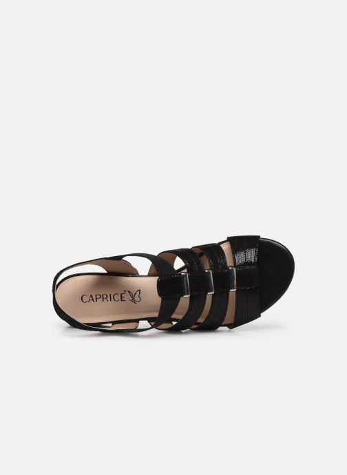 Sandali e scarpe aperte Caprice Nika Nero immagine sinistra