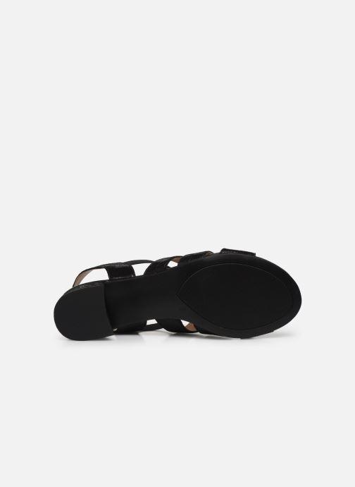 Sandali e scarpe aperte Caprice Nika Nero immagine dall'alto