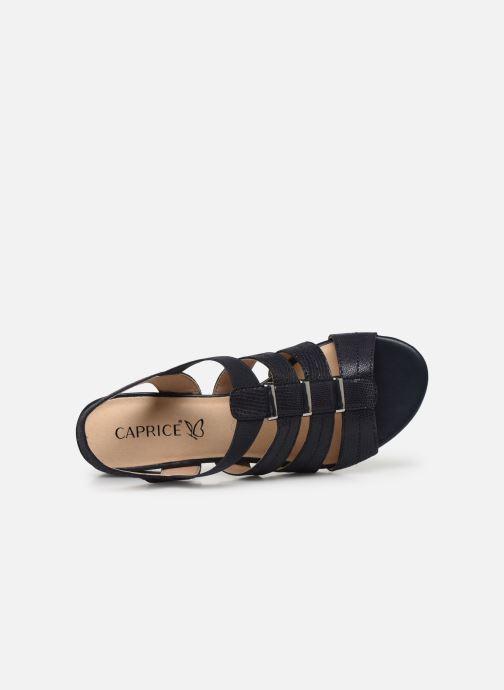 Sandali e scarpe aperte Caprice Nika Azzurro immagine sinistra