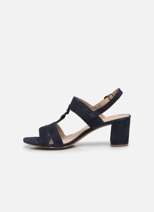 Sandales et nu-pieds Caprice Nuccia Bleu vue face