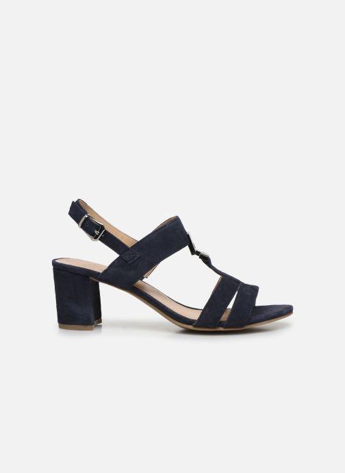 Sandales et nu-pieds Caprice Nuccia Bleu vue derrière