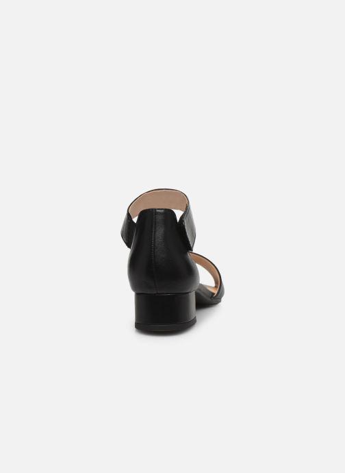 Sandales et nu-pieds Caprice Nara Noir vue droite