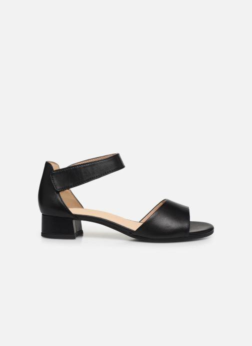 Sandales et nu-pieds Caprice Nara Noir vue derrière