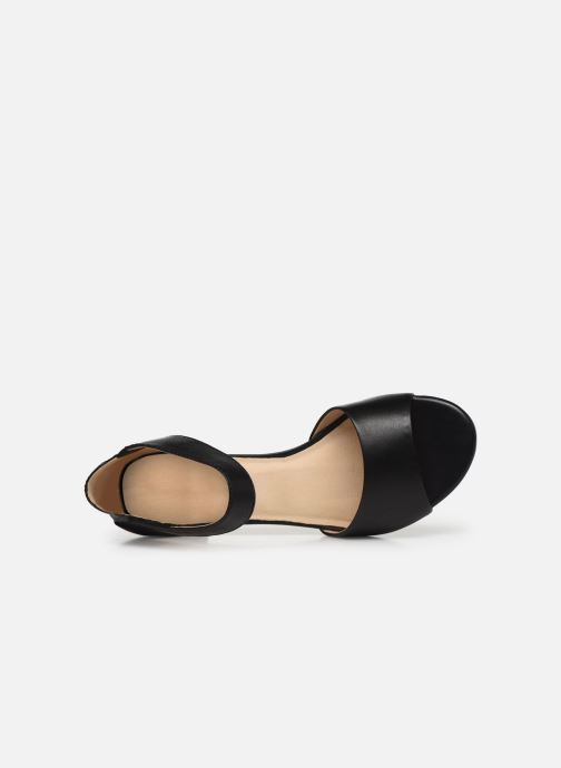 Sandales et nu-pieds Caprice Nara Noir vue gauche