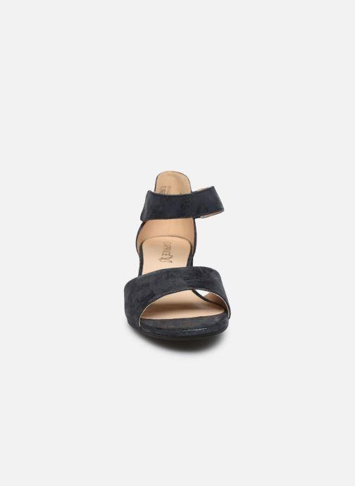 Sandales et nu-pieds Caprice Nara Bleu vue portées chaussures