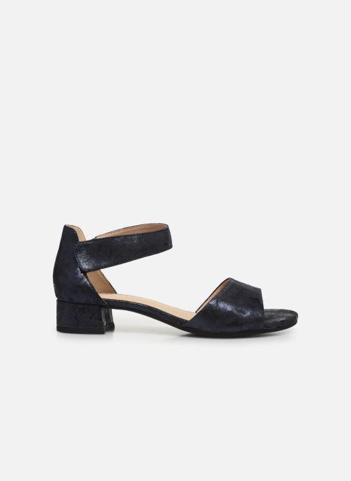 Sandales et nu-pieds Caprice Nara Bleu vue derrière