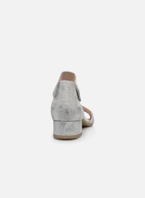 Sandales et nu-pieds Caprice Nara Argent vue droite