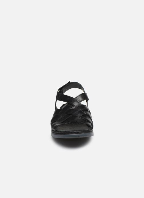 Sandali e scarpe aperte Caprice Nerice Nero modello indossato