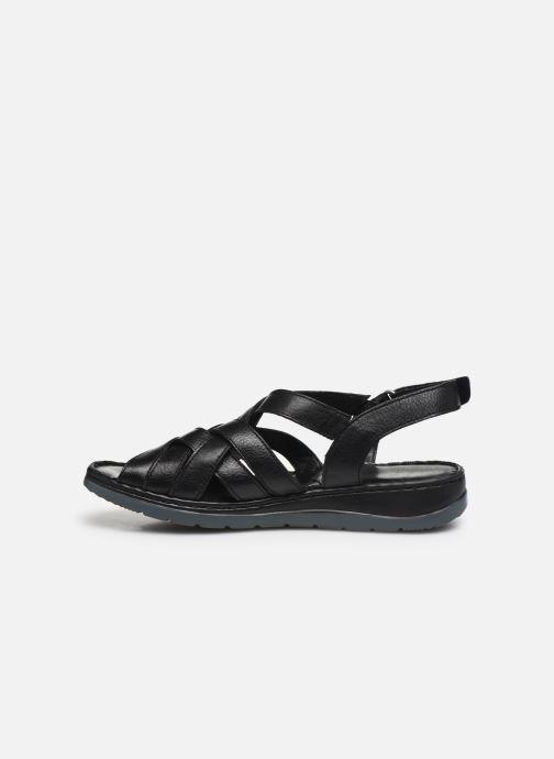 Sandali e scarpe aperte Caprice Nerice Nero immagine frontale