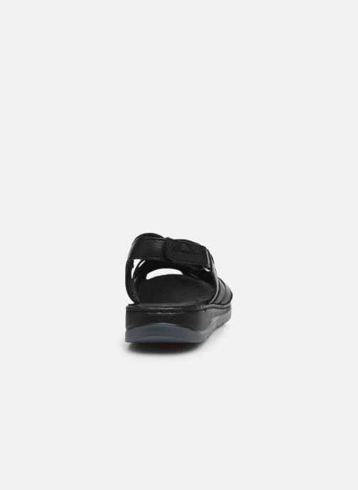 Sandali e scarpe aperte Caprice Nerice Nero immagine destra