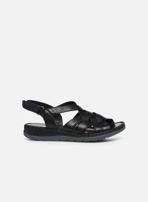 Sandali e scarpe aperte Caprice Nerice Nero immagine posteriore