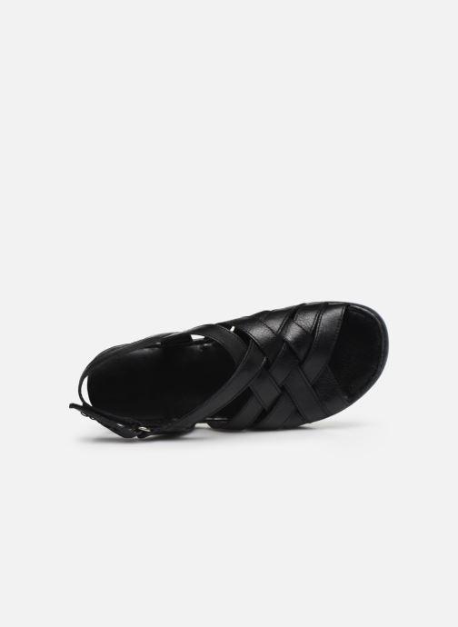 Sandali e scarpe aperte Caprice Nerice Nero immagine sinistra