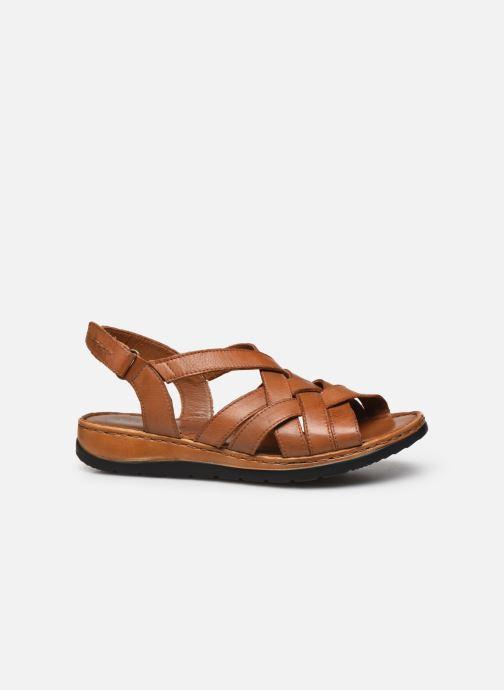 Sandali e scarpe aperte Caprice Nerice Marrone immagine posteriore