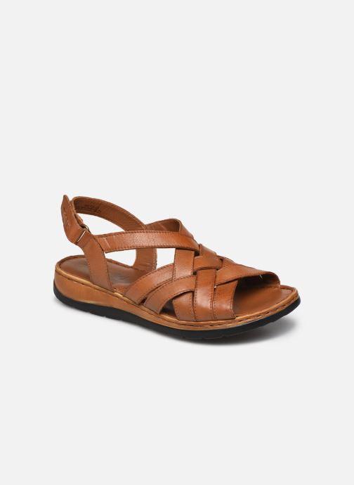 Sandales et nu-pieds Caprice Nerice Marron vue détail/paire