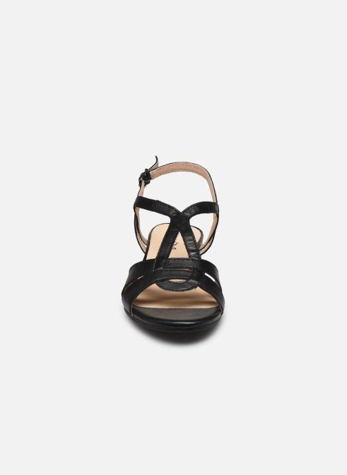 Sandalias Caprice Nat Negro vista del modelo