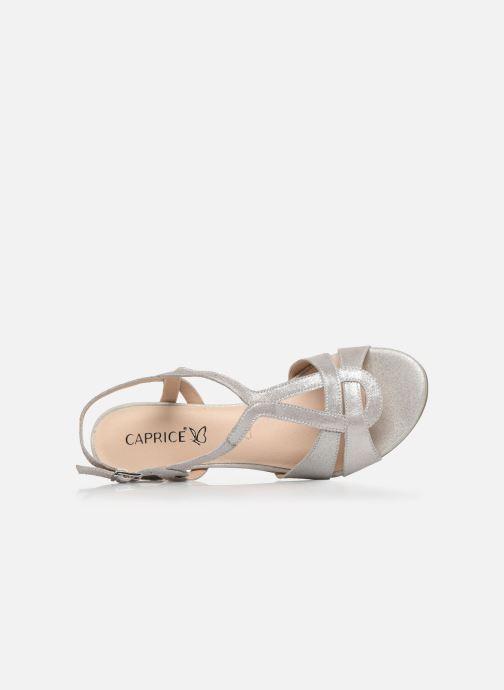 Sandali e scarpe aperte Caprice Nat Argento immagine sinistra