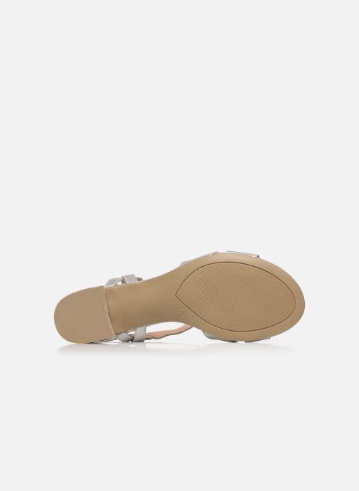 Sandali e scarpe aperte Caprice Nat Argento immagine dall'alto