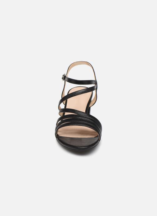 Sandales et nu-pieds Caprice Nima Noir vue portées chaussures