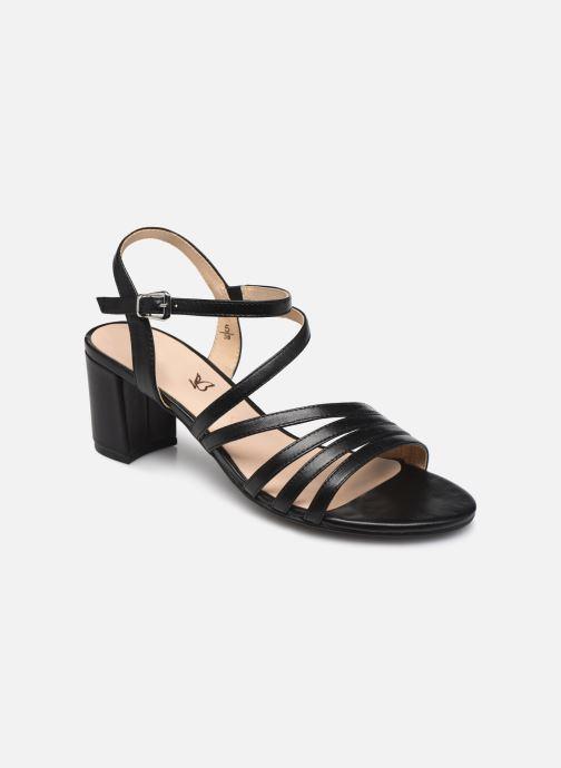 Sandales et nu-pieds Caprice Nima Noir vue détail/paire