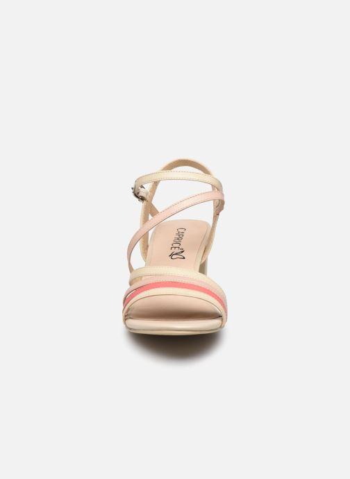 Sandales et nu-pieds Caprice Nima Beige vue portées chaussures