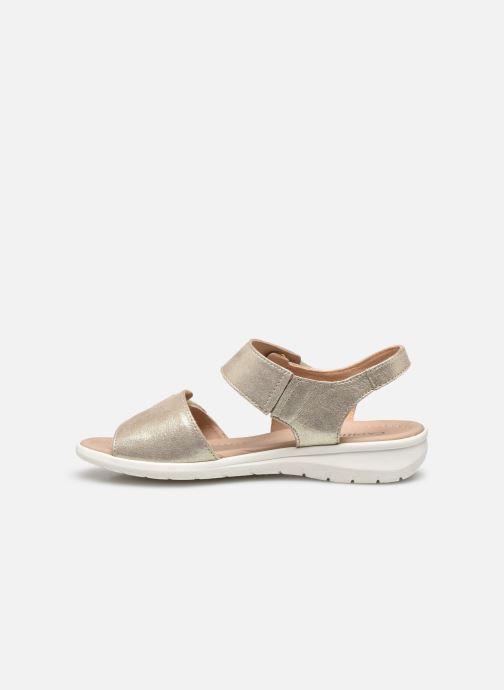 Caprice Nouma (Or et bronze) Sandales et nu pieds chez