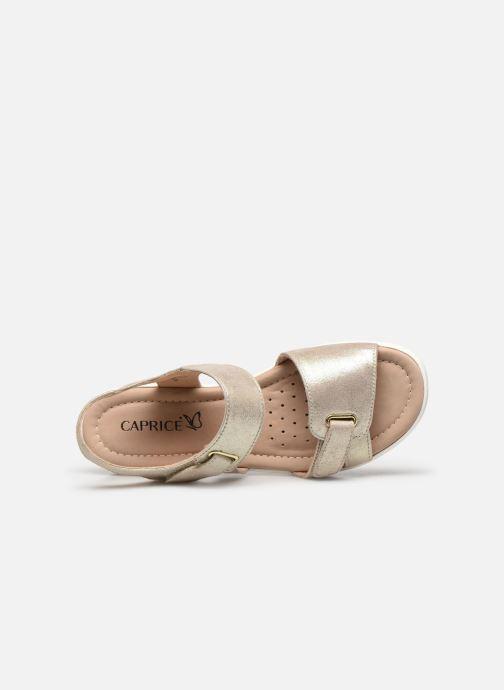 Sandali e scarpe aperte Caprice Nouma Oro e bronzo immagine sinistra