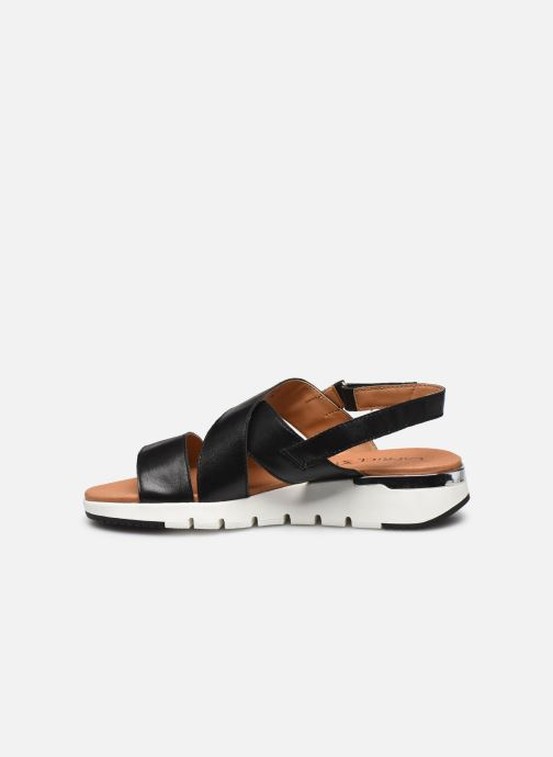 Sandales et nu-pieds Caprice Noor Noir vue face