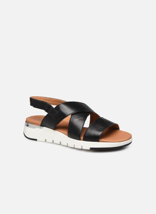 Sandales et nu-pieds Caprice Noor Noir vue détail/paire