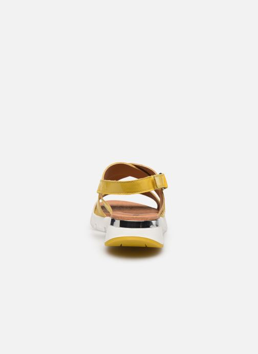 Sandali e scarpe aperte Caprice Noor Giallo immagine destra