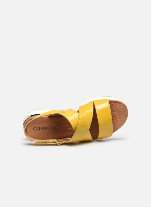 Sandali e scarpe aperte Caprice Noor Giallo immagine sinistra