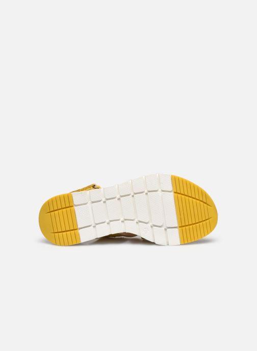 Sandali e scarpe aperte Caprice Noor Giallo immagine dall'alto