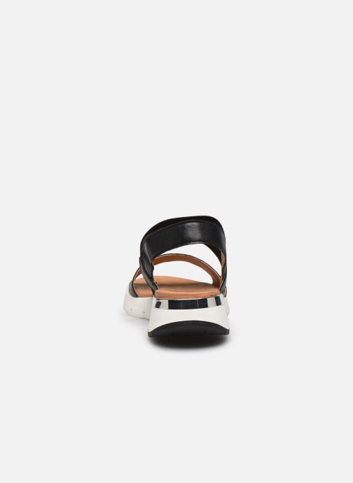 Sandali e scarpe aperte Caprice Nova Nero immagine destra