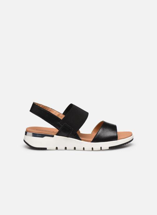 Sandales et nu-pieds Caprice Nova Noir vue derrière