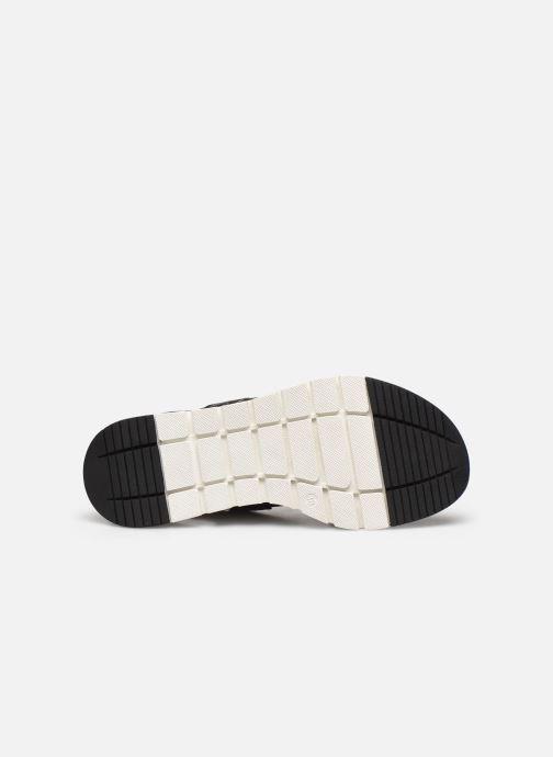 Sandales et nu-pieds Caprice Nova Noir vue haut