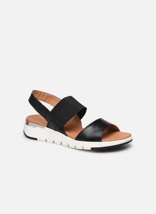 Sandales et nu-pieds Caprice Nova Noir vue détail/paire
