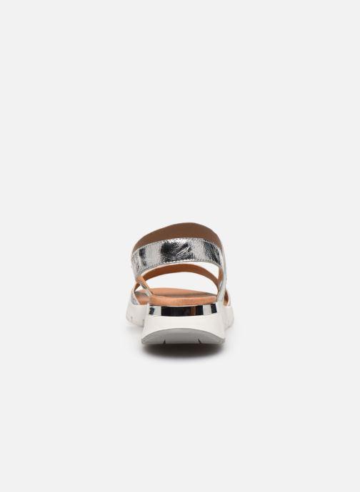 Sandali e scarpe aperte Caprice Nova Argento immagine destra