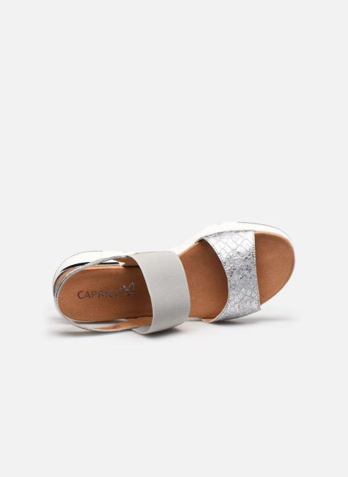 Sandali e scarpe aperte Caprice Nova Argento immagine sinistra