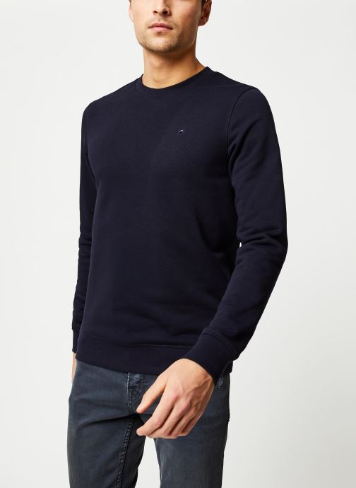Vêtements Scotch & Soda Clean sweat Bleu vue droite