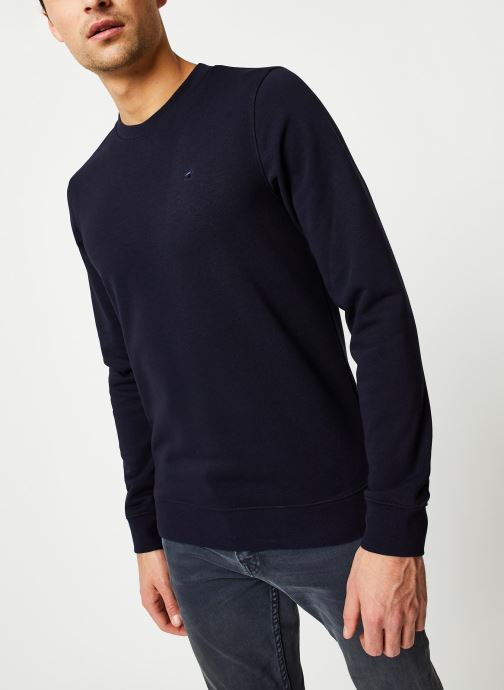 Vêtements Scotch & Soda Clean sweat Bleu vue détail/paire