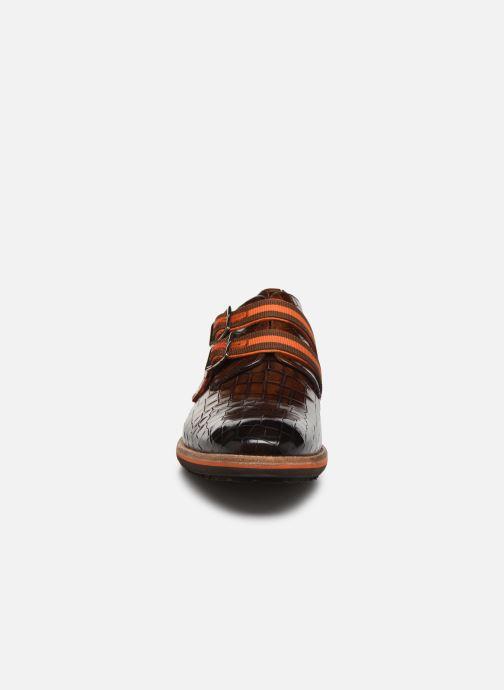 Schuhe mit Schnallen Melvin & Hamilton Eddy 26 braun schuhe getragen