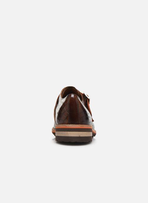 Schuhe mit Schnallen Melvin & Hamilton Eddy 26 braun ansicht von rechts