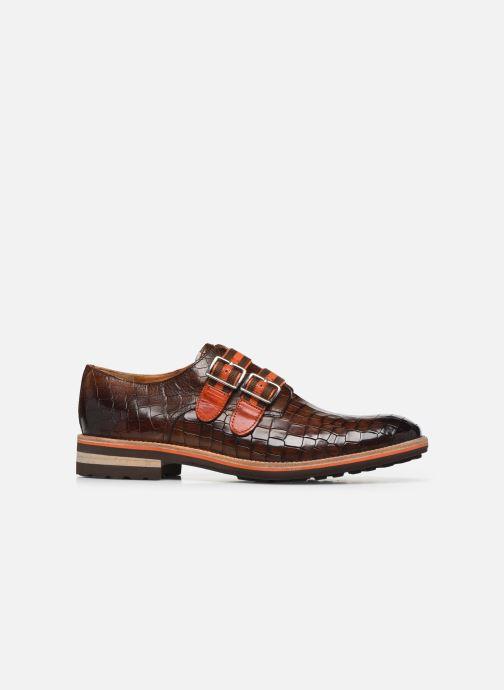 Schuhe mit Schnallen Melvin & Hamilton Eddy 26 braun ansicht von hinten