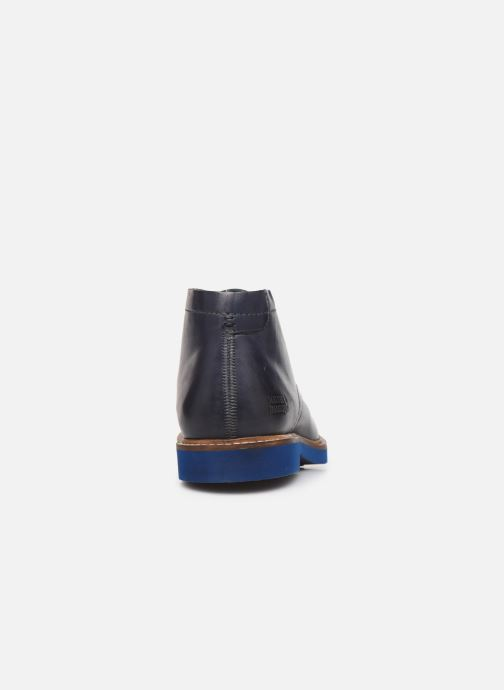 Ankle boots Melvin & Hamilton Felix 1 Blue view from the right