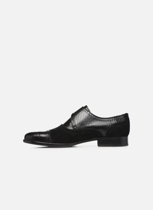 Zapato con hebilla Melvin & Hamilton Henry 11 Negro vista de frente